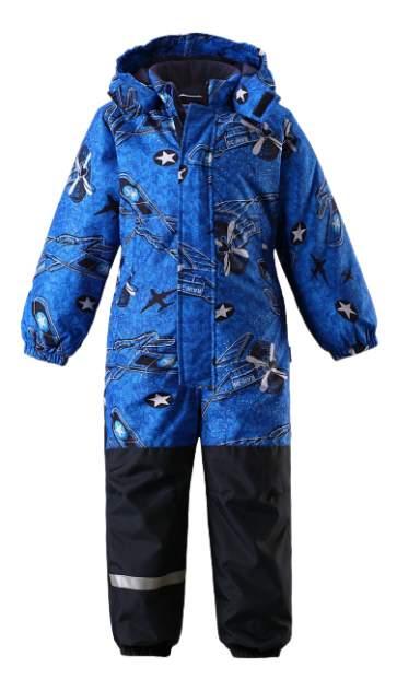 Комбинезон детский Lassie Зимний Самолеты Blue р.80