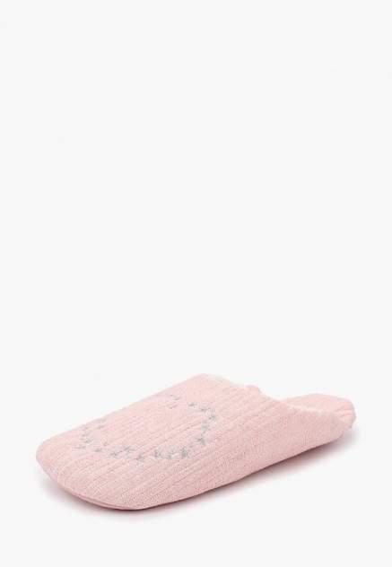 Домашние тапочки женские Halluci Сердечки розовые 38-39 RU