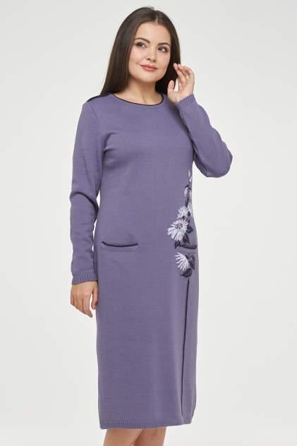 Платье женское VAY 182-2368 фиолетовое 48 RU