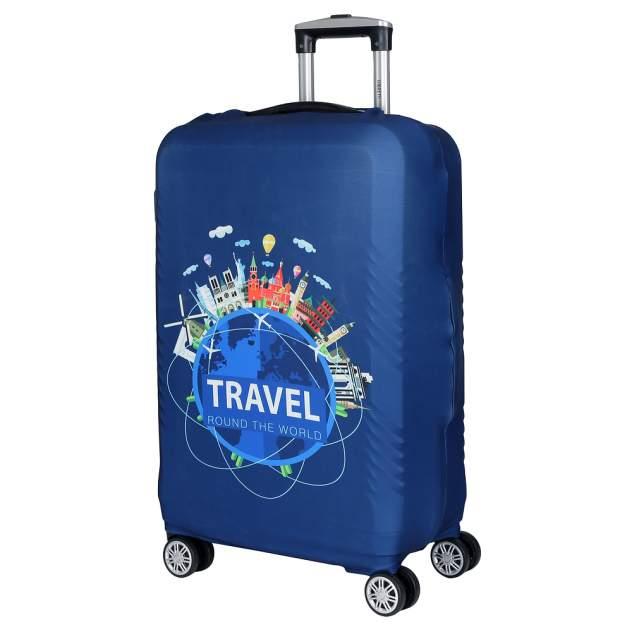 Чехол для чемодана FABRETTI W1016, синий