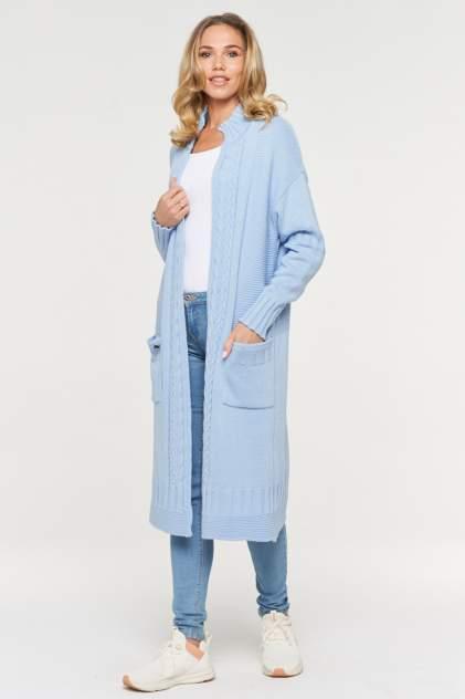 Жакет женский VAY 192-1592 голубой 50 RU