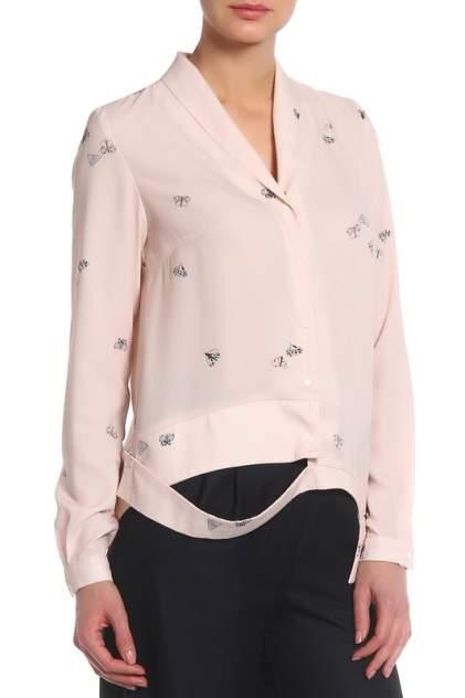Блуза женская Adzhedo 70021 розовая 6XL RU