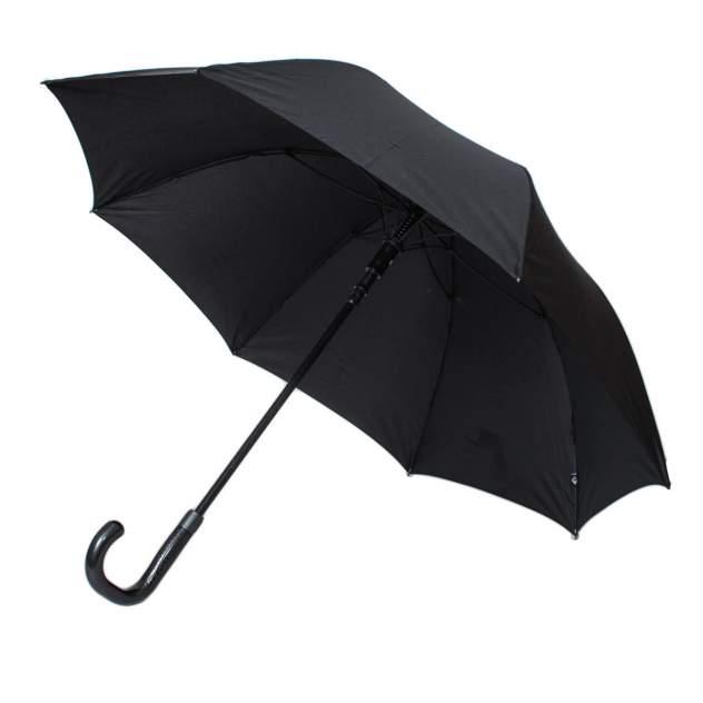 Зонт-трость мужской полуавтоматический Flioraj 232301 FJ черный