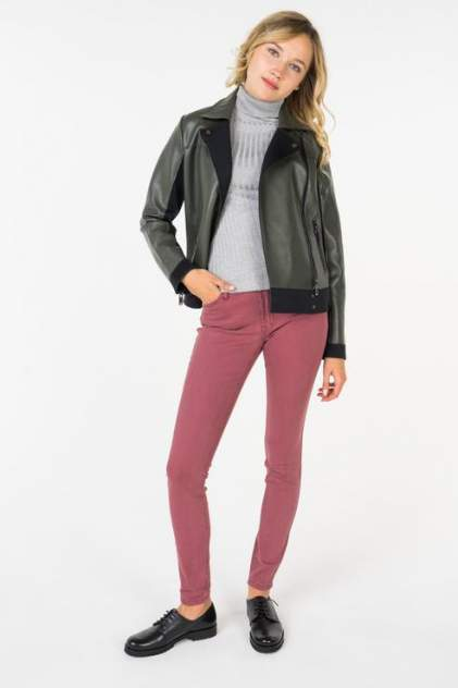 Куртка женская Incity 1.1.2.18.01.13.00195/001830 зеленая 40 RU