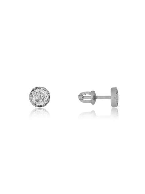 Серьги женские из серебра TOP CRYSTAL 40455365 фианит