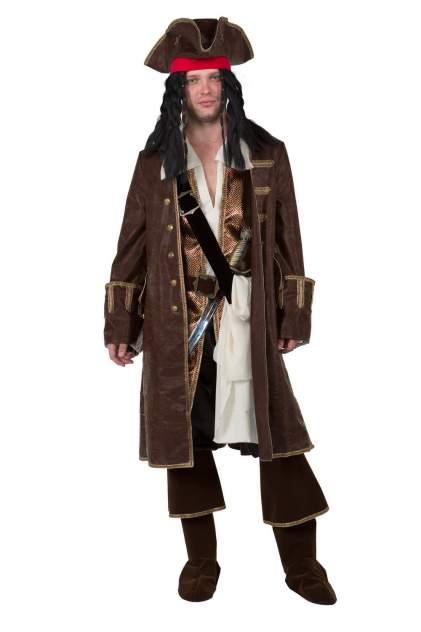 Карнавальный костюм Батик Джек Воробей, цв. коричневый р.176