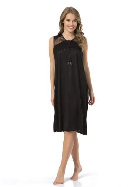 Ночная сорочка женская Turen 3124 черная XXL