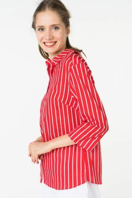 Рубашка женская ZARINA 8225101330074 красная 44 RU