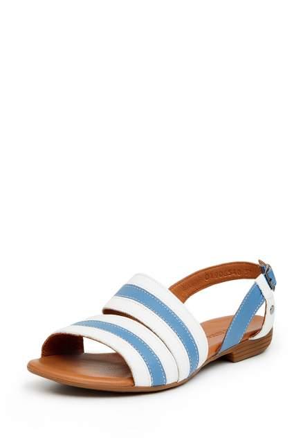 Босоножки женские Alessio Nesca 710018051 белые/голубые 38 RU