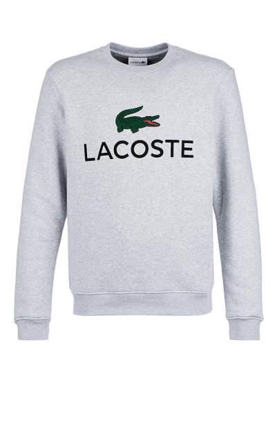 Толстовка мужская Lacoste SH0605CCAT, серый