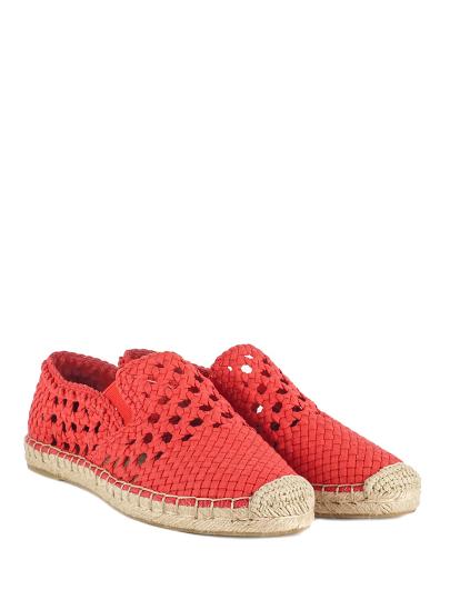 Эспадрильи женские Ash 58143 красные 36 RU