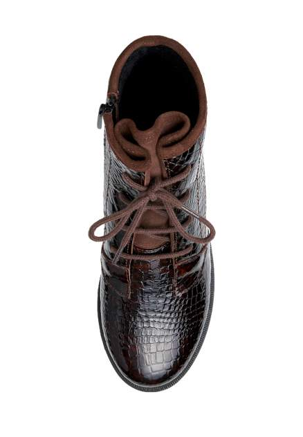 Ботинки женские Alessio Nesca 710018302 коричневые 39 RU