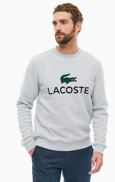 Свитшот мужской Lacoste серый 56