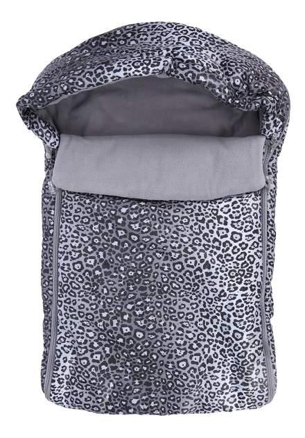 Конверт-мешок для детской коляски Leader Kids Леопард серый