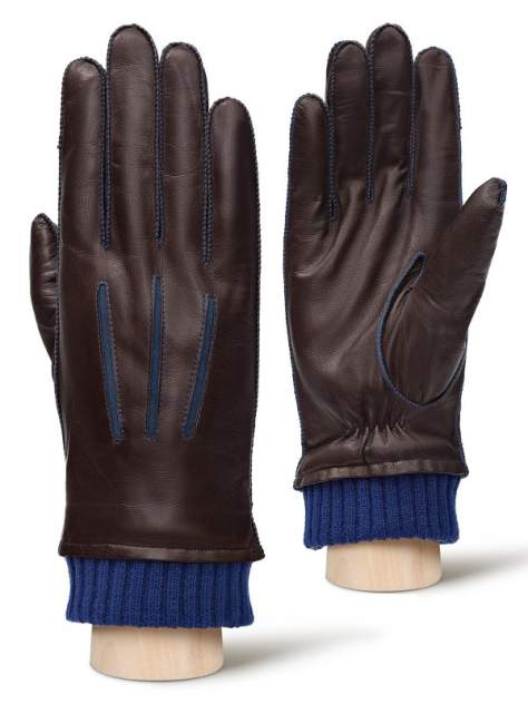 Перчатки мужские Eleganzza OS00110 коричневые 9