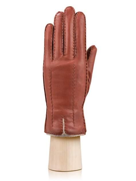 Перчатки женские Labbra LB-0013-s коричневые 7