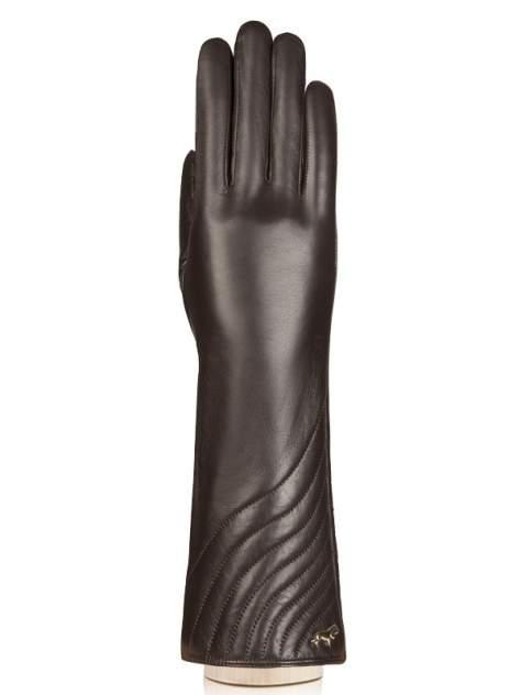 Перчатки женские Labbra LB-0308 коричневые 7.5