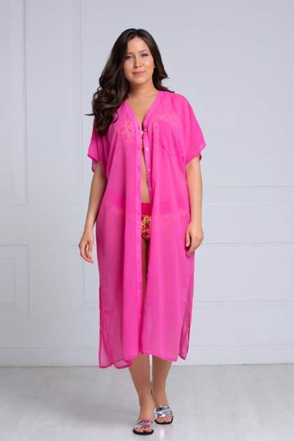 Пляжная туника женская Laete 60382-1 розовая L