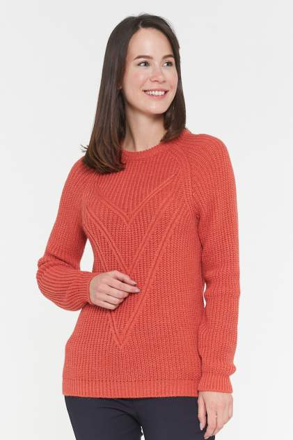 Джемпер женский VAY 192-4967 оранжевый 50 RU