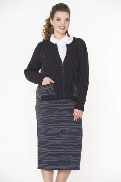 Юбка женская VAY 5023 фиолетовая 58 RU