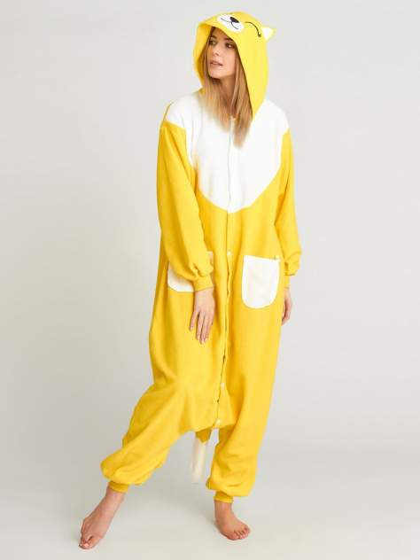 Кигуруми BearWear Желтая лиса, желтый