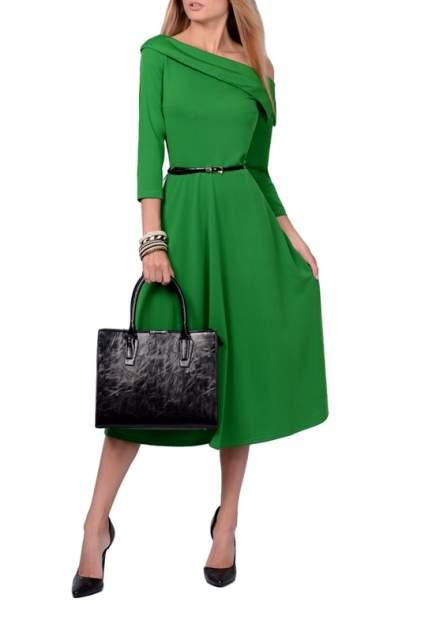 Платье женское FRANCESCA LUCINI F0724-7 зеленое 42 RU