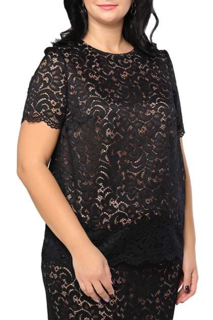 Блуза женская Limonti 756101 черная 66 RU