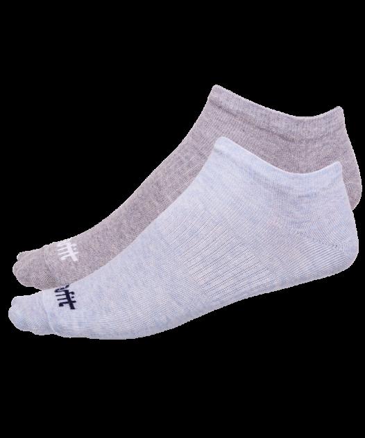 Носки StarFit SW-205, голубый меланж/светло-серый меланж, 39-42 EU