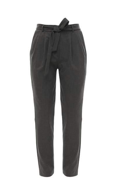 Женские брюки Selected 16065201 dark grey melange, серый