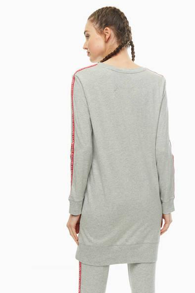Лонгслив женский Calvin Klein Underwear QS6313E_020 серый M