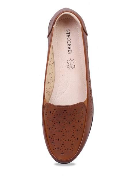 Полуботинки женские T.Taccardi 273060A0 коричневые 37 RU