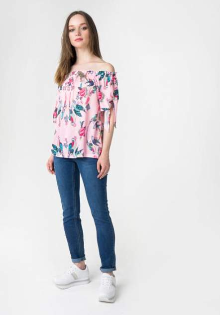 Блуза женская ZARINA 8225512412095 розовая L