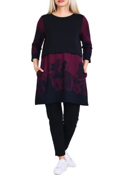 Туника женская OLSI 1906021_2 фиолетовая 70 RU