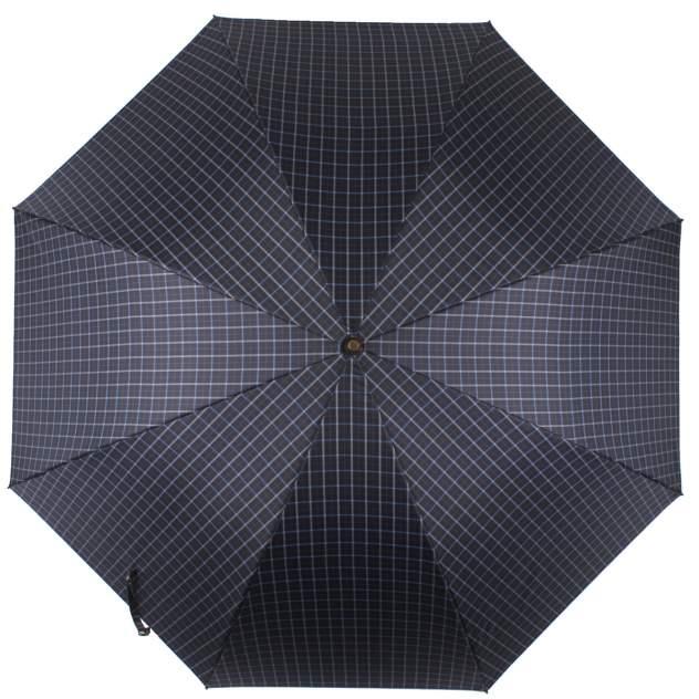Зонт-трость мужской полуавтоматический Flioraj 23241 FJ синий