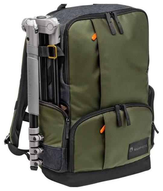 Рюкзак для фототехники Manfrotto Street Backpack серый/зеленый