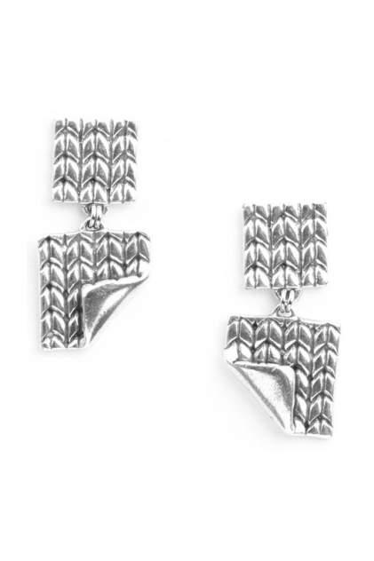 Серьги женские ORI TAO OT-12-29020 серебристые