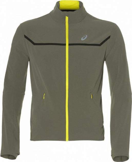 Куртка Asics Style Jacket, green/yelllow, L
