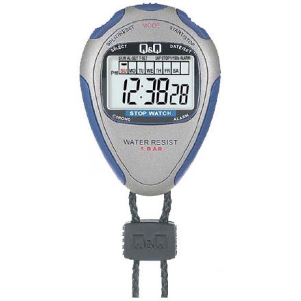 Карманные часы Q&Q HS46-002 серые