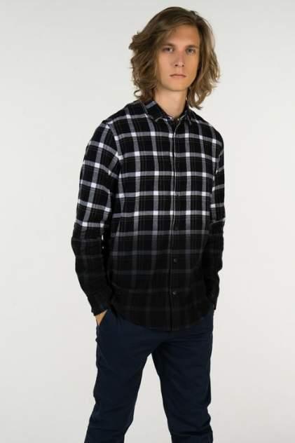 Рубашка мужская ONLY & SONS 22010480, черный
