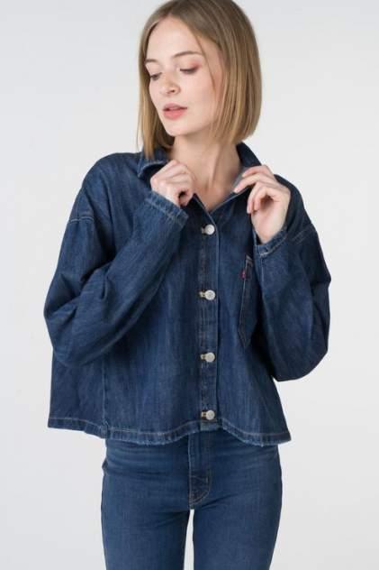 Женская джинсовая рубашка Levi's 5680100000, синий
