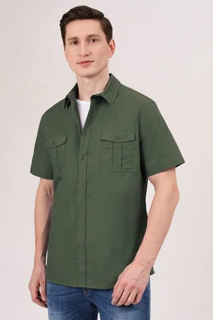 Рубашка мужская Tom Farr T M7004.47 зеленая XL