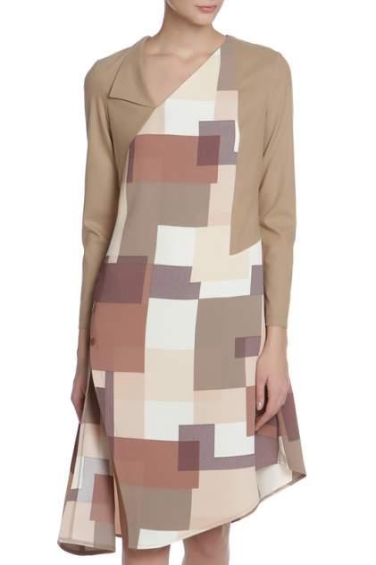 Платье женское Adzhedo 41369 бежевое 3XL