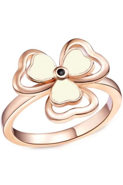 Кольцо женское ViviTrend Клевер 47480 золотистое