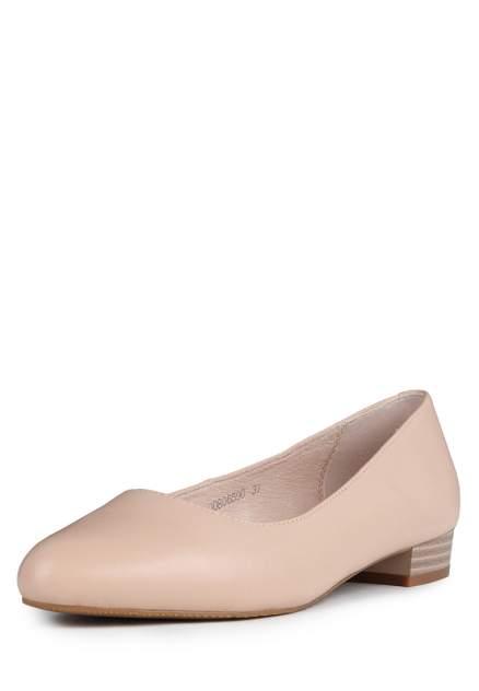 Туфли женские Alessio Nesca 710017512 бежевые 39 RU