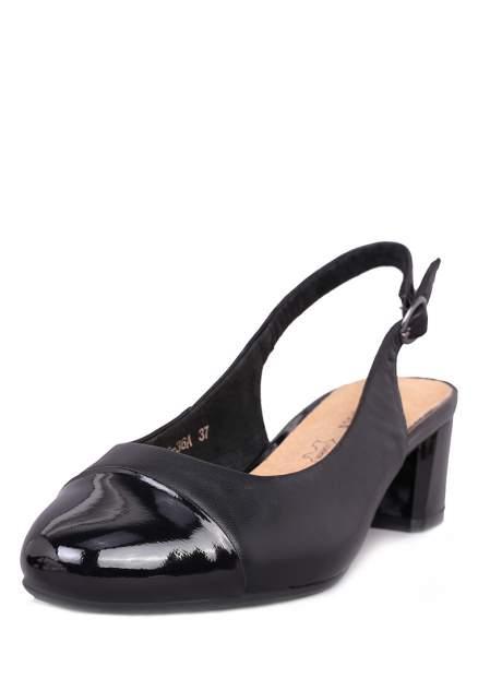 Туфли женские Alessio Nesca 710017760 черные 36 RU