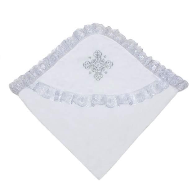 Уголок для крещения Осьминожка с вышивкой Серебро