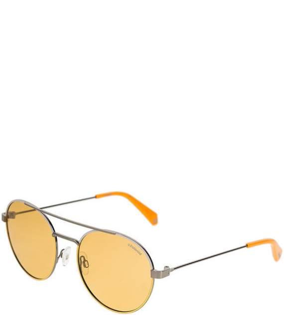 Солнцезащитные очки унисекс Polaroid PLD 6056/S 40G HE, оранжевый