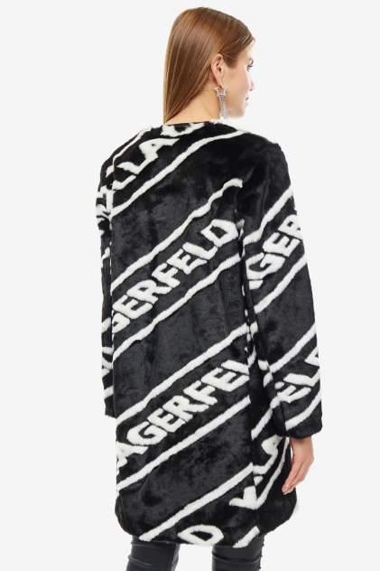Шуба женская Karl Lagerfeld черная