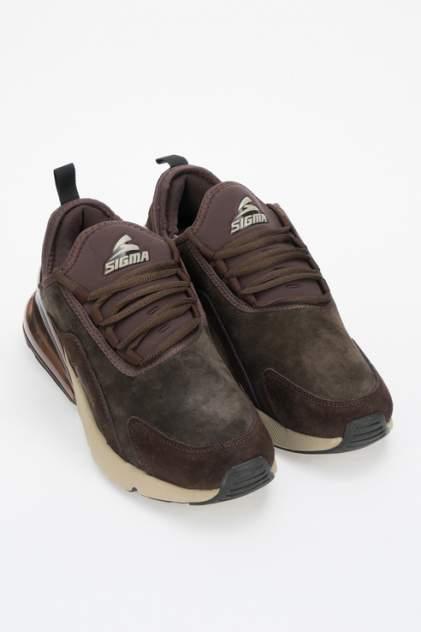 Кроссовки мужские SIGMA P19192 коричневые 43 RU
