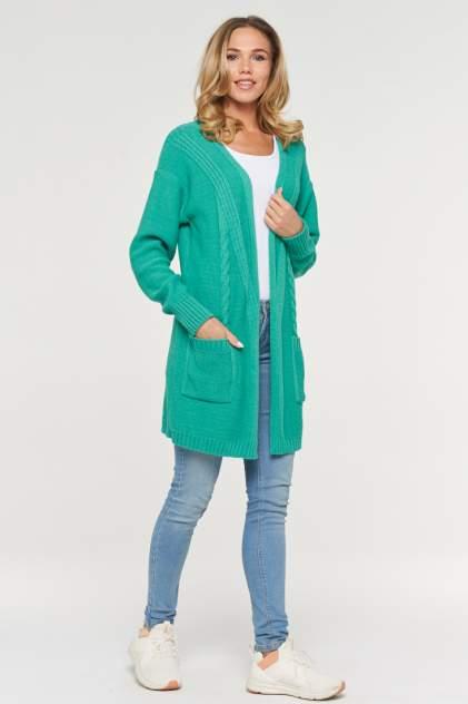 Жакет женский VAY 192-1613 зеленый 52 RU